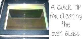 self cleaning oven door gasket between the glass on an appliances tips how to