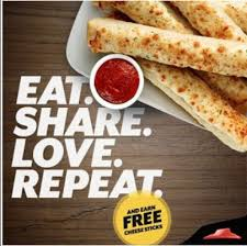 Pizza Hut Deal Get Free Cheese Bread Sticks With Referral