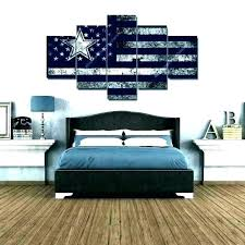 dallas cowboys home decor cowboy wall decorations bedroom small images clearance