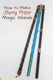 own harry potter magic wands
