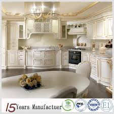 Solid Wood Style New Luxury Custom European Kitchen Cabinets