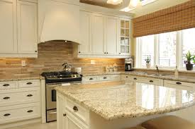 white kitchen cabinets with granite countertops ideas