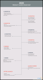 Gantt Chart For New Product Launch The Visual Guide To Launching A Product Or Service