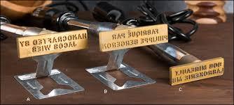 woodworking branding iron. electric branding irons - woodworking iron