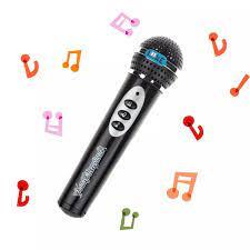 Micro Thời Trang Cho Bé Trai Bé Gái Micro Hát Karaoke Cho Trẻ Em Món Quà  Vui Nhộn Đồ Chơi Âm Nhạc