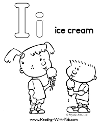 Small Picture Letter I Coloring Pages Ice Cream Get Coloring Pages