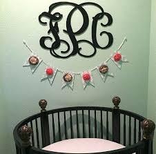 wooden monogram wall art nursery decor wooden monogram wall art large by customcutmonograms wall tile ideas wooden monogram wall