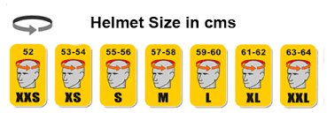 Speed Strength Helmet Size Chart How To Measure Your Helmet Size