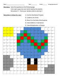 solving equations 2 balloon drawing