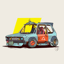 ArtStation - MKI, Fernando Correa | Cool car drawings, Art cars ...