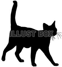 あなたが愛している7つの看板猫のシルエット画像猫のシルエット画像