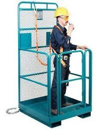 Image result for forklift work platform