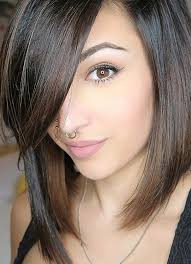 short hairstyles for women with thin fine hair side swept bob