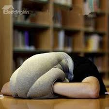 office nap. The Magical Ostrich Light Neck Protection Office Nap Pillow B