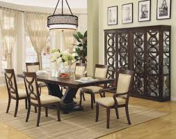 modern dining table centerpieces. Classic Modern Dining Room Design With Rectangle Wood Black Pertaining To Table Centerpieces S