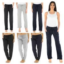 Womens Designer Tracksuit Bottoms Details About Ladies Jog Pants Women Casual Yoga Gym Joggers Running Trousers Jogging Bottoms