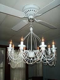 living breathtaking black chandelier ceiling fan
