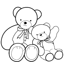 Small Picture Teddy Bear Coloring Pages GetColoringPagescom