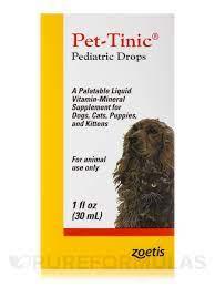 PetTinic 1 oz by Pfizer - Walmart.com - Walmart.com