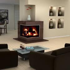 contemporary corner fireplace designs