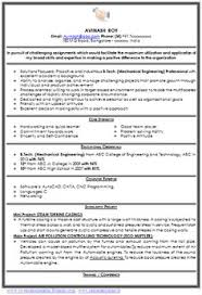 Professional Curriculum Vitae Sample Template of a Fresher Mechanical  Engineer Resume Sample with Excellent / Beautiful
