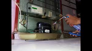 refrigerator gas. refrigerator gas charging and fridge repair r134a refrigerant. freezer change. not cooling