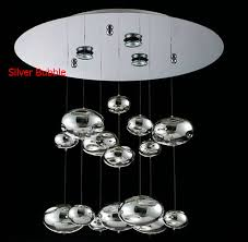 Murano due lighting Chandelier Suspension Placeholder H60cm Murano Due Bubble Glass Ceiling Light Chrome Lampshade Decoration Fixtures Restaurant Bedroom Home Hanging Lamp Aliexpress Online Shop H60cm Murano Due Bubble Glass Ceiling Light Chrome