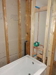 claw foot tub installation surround demolition how tos diy within regarding installing a ideas 15