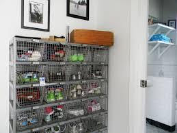 Washroom Mudroom Shoe Storage