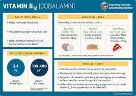 Vitamin B12 Linus Pauling Institute Oregon State University