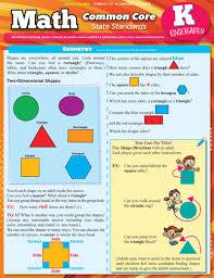 Common Core Chart Math Common Core State Standard Bar Chart For Kindergarten