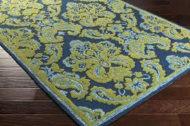 surya skye ske4013 blue green outdoor area rug mediterranean outdoor rugs by rugmethod