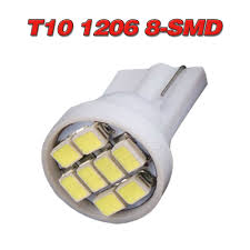 194 Light Bulb Details About 20 X Car White T10 Led 8smd Side Wedge Light Bulb W5w 194 168 2825 501 192 158