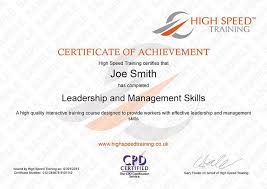 Example Of Management Skills Leadership Management Course Online Training
