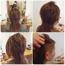 長さ別ツーブロック刈り上げ女子の髪型画像16つショートアシメ