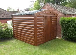 insulated metal garden shed