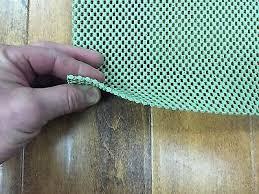 premium non skid rcp area rug pad natural rubber for hard floors custom sizes