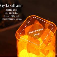Salt Light Durable Nice Usb Crystal Himalayan Salt Light Led Air Purifier Indoor Lighting