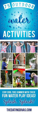 outdoor water games for kids. Look No Further, The Top 75 Water Games, Outdoor Activities, DIYs And Toys Are ALL Right Here To Help You Celebrate Summer Beat Heat! Games For Kids L