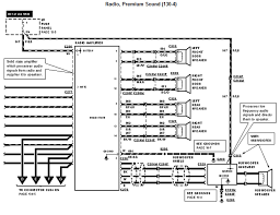 radio wiring diagram for ford taurus radio wiring diagram ford explorer radio wiring diagram 1996 wire diagram
