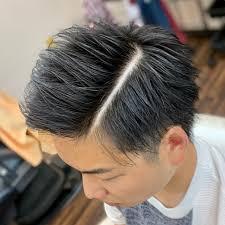 ヘアスタイルショート ツーブロック 天童の理髪店 With ウィズ