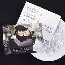 Fridays Photo Winter Themed Save The Dates