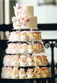 25 Cute Wedding Cakes With Cupcakes Ideas On Pinterest Pink Big