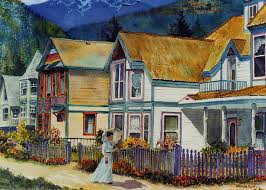 Gold Miner's Daughter Painting by Wanda Coffey