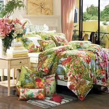 4 piece bedding set bordeaux garden duvet cover bed sheet pillowcases loading