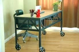desk with wheels computer table ikea regarding decor 14