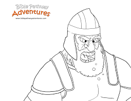 David And Goliath Coloring Pages Pdf 5b28a959f1544 5 Futuramame