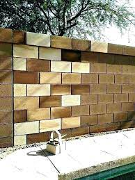 concrete painting cinder block walls in