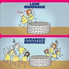 what are the pros and cons of love marriage and arranged marriage  arranged marriage