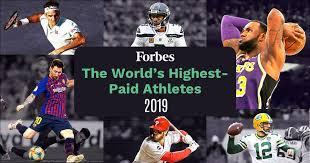 100 highest paid athletes